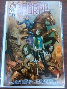 NM Cyber Force 1 October 2012 Image Comics Signed Marc Silvestri OSS Hawkins Gho