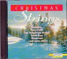 CHRISTMAS STRINGS: CLASSIC INSTRUMENTAL EASY LISTENING HOLIDAY CD (1996) RARE!!!