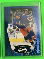 1998 Upper Deck UD Choice Starquest Blue #SQ1 Wayne Gretzky New York Rangers