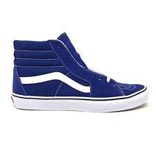 Vans Sk8 Hi Estate Blue White Men's 6.5 Women's 8 Skate Shoes New High Top