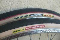 2 pneus 650 B Michelin Axial Raid Hi-Lite Road randonneur Singer Herse Follis