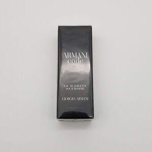 Armani Code EDT Spray Pour Homme | 15ML 0.5oz | NEW SEALED