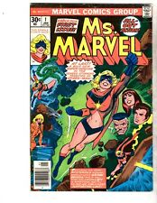 Ms. Marvell 1 - 23 (#1 signed by John  Buscema - Full Run/1st  Mystique)