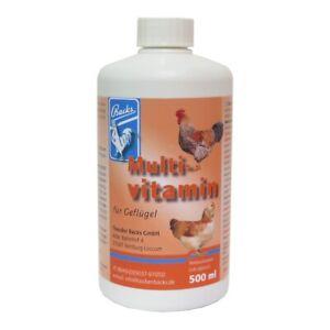 Backs Multivitamin für Rassegeflügel 500ml - Vitamine für Geflügel