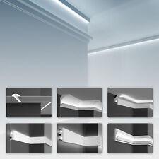 Tesori KD Muster LED Einbauleiste Stuckleisten Lichtprofil Trockenbau Profile