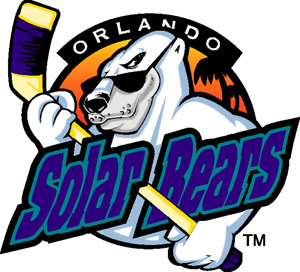 Orlando Solar Bears IHL Hockey 1995-2001 Embroidered T-Shirt S-6XL, LT-4XLT New