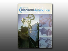 Collectable 2002 Blackout Distribution Freestyle & Bmx bicycle, product catalog