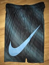 NIKE DRI-FIT FLY SONIC Training Shorts Mens XL Blue/Black NWT