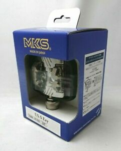 MKS [US-S Ezy] 112-061 Bicycle Pedal 2 Holes Cleats for Both Sides Binding JPN