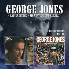 George Jones - Ladies Choice / My Very Special Guests [New CD] UK - Import