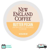 New England Butter Pecan Keurig Coffee K-cups YOU PICK THE SIZE