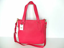 Fossil Preston shopper bright pink bag   new with tags