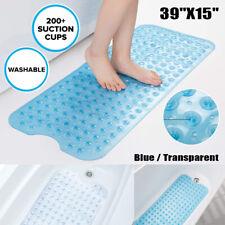 Bath Tub Mat Anti Slip Extra Long Safety Shower Mat Pad Antibacterial Non Skid