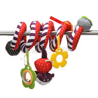 Baby Activity Spiral Hanging Toy for Pushchair Pram Stroller Car Seat Child