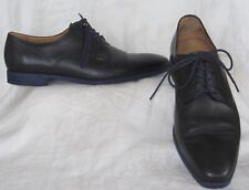 PAUL SMITH Womens Black Leather Lace Up Oxford Shoes Size 40