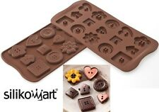 Stampo Silicone Silikomart Easychoc Buttons Bottoni Cioccolatiini Scg29 mshop
