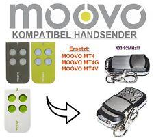 MOOVO MT4, MT4G, MT4V kompatibel handsender, 4-Kanal 433,92MHz fernbedienung