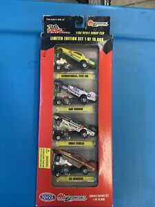 Racing Champions Funny Cars 1:64 Set NHRA Gatornationals Limited 1996 NEW