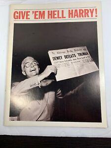 "Vintage ""Give Em Helll Harry!"" Souvenir Program Ed Nelson"
