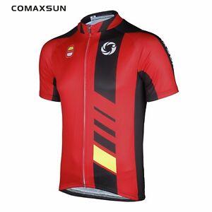 COMAXSUN Cycling Jersey Breathable MTB Bicycle Shirts Comfortable Bike Clothes