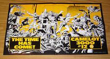 """Camelot 3000 #12 poster - dc comics 1984 - brian bolland - 12.5"""" x 22"""""""