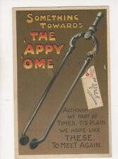 Something Towards The Appy Ome Tongs [306] 1910 Comic Postcard Birn Bros 253b