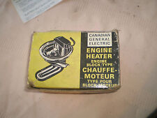 vintage automotive general electric block heater