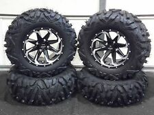 "ARCTIC CAT PROWLER 27"" QUADKING 14"" FURY ATV TIRE & WHEEL KIT 525 BIGGHORN"