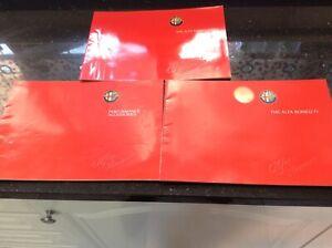 Alfa Romeo Genuine Sales brochures Sprint, 75 & performance accessories