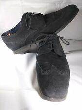 cole haan grand.os shoes men 11w black seude c21170 fh15
