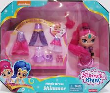Fisher-Price Nickelodeon Shimmer & Shine, Magic Dress Shimmer New in Box Perfect