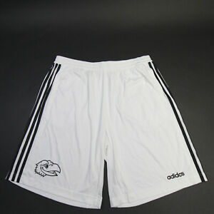 Kansas Jayhawks adidas Athletic Shorts Men's White/Black Used
