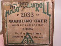 Player Piano Roll Standard ARTO 2033 Bubbling Over,88