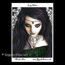 **LADY HELLEN** Goth Fantasy Art A4 Photo Print By Michele Ann