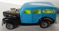Vintage! 1995 Hot Wheels '40's Woodie #217-Teal Paint-7Sp