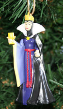 CUSTOM Disney Princess Snow White Evil Queen Villain Christmas Ornament PVC NEW