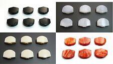 6p x Plastic GOTOH guitar machine Tuner Mini Buttons-Black/white/Red/Invory-FR17