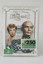 The King and I 2 Discs DVD 15th Anniversary Edition Reg 4 See Below