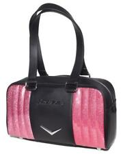 Lux de Ville Carry All Pink Bubbly Sparkle Goth Small Tote Bag Purse CAS888BPBS