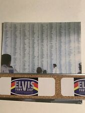 Elvis Arizona Memorial 1965 Candid With Negative / Marty Lacker Collection
