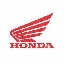 Honda Wing Motorcycle Sticker Decal 120mm X 100mm