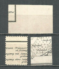 Latvia  1918  mint stamps MNG - map  perf./ imperf.