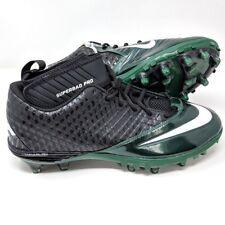 NIKE Lunar Super Bad Pro TD Football Cleats Men's Size 12 Green Black 511334-022