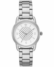 NWT Kate Spade New York Women's Boathouse Silver Tone Watch 30mm KSW1165
