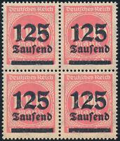 DR 1923, MiNr. 291 a I, tadellos postfrisch, gepr. Infla, Mi. 80,-