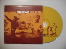 MICKEY 3D : LES MOTS [ CD SINGLE PORT GRATUIT ]