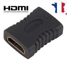 adaptateur video tv connecteur Coupleur hdmi/hdmi femelle