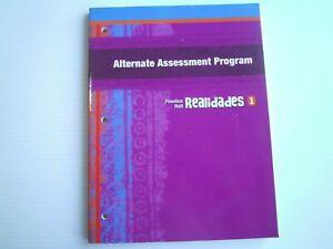 Realidades 1 Alternate Assessment Program (Paperback)