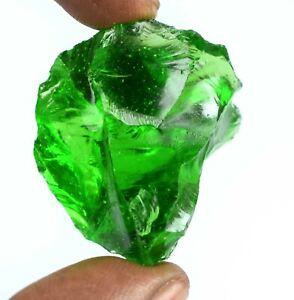 Natural Brazilian Peridot Gemstone Rough 3 Pcs Lot Good Friday Gift 90 Ct.