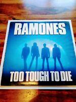 The Ramones Too Tough To Die LP Vinyl Beggars Banquet 1985 BEGA 59 VG/VG US PUNK